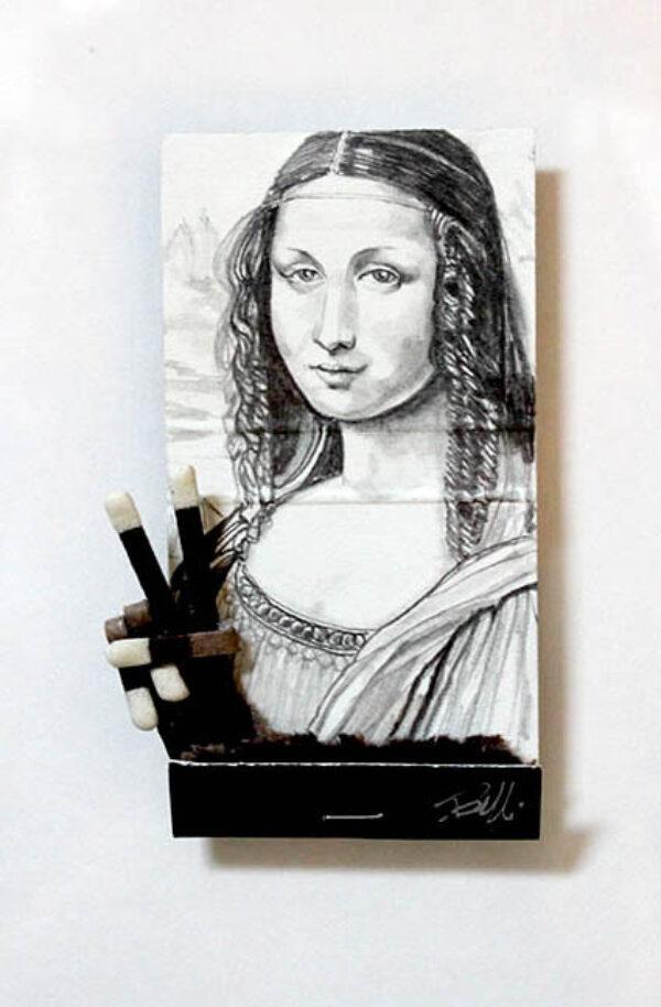 Mona Lisa Matchbook
