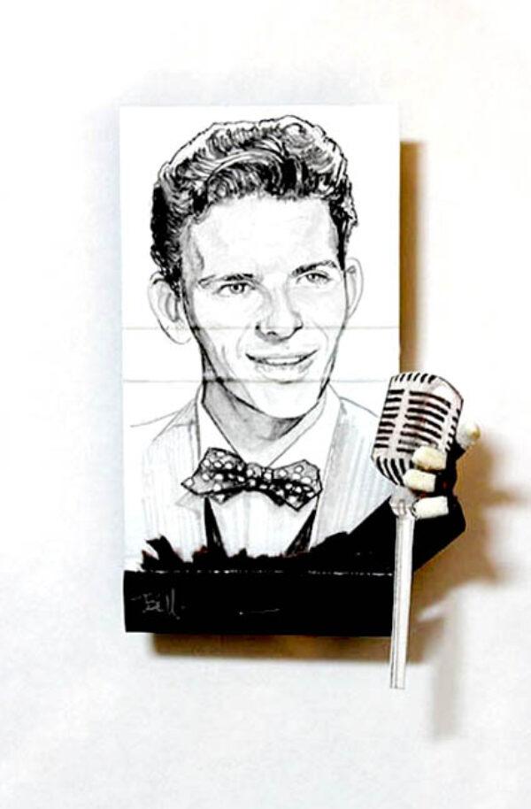 Frank Sinatra Matchbook